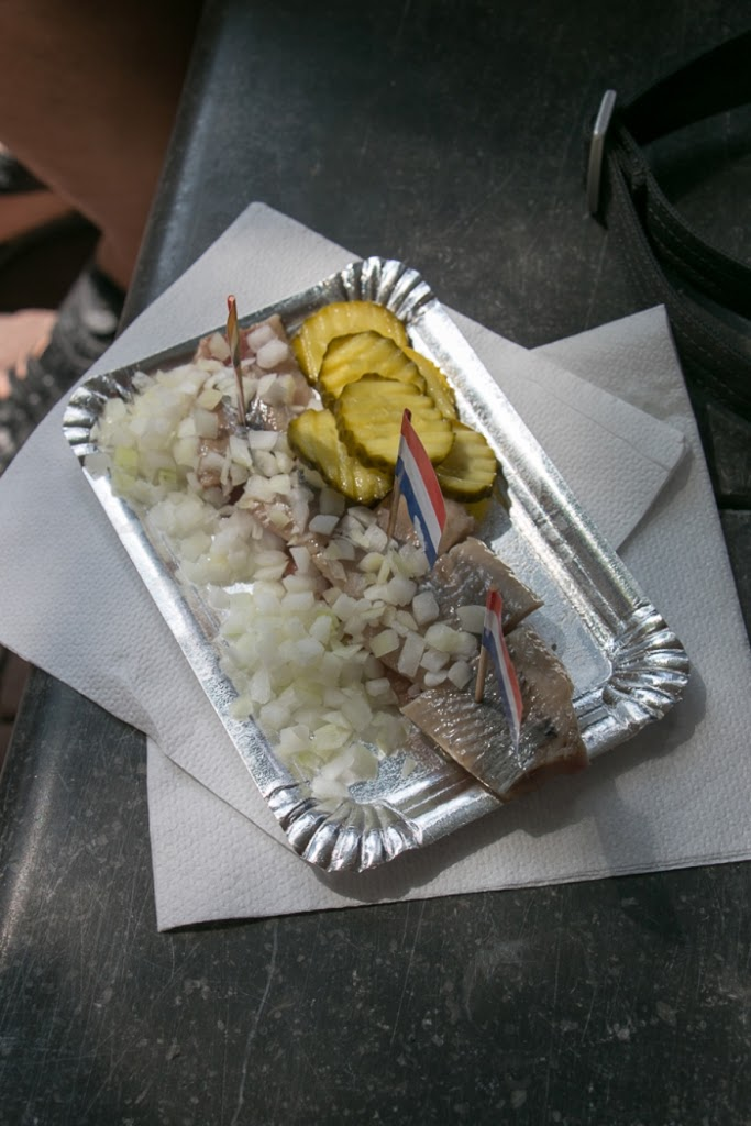 Raw Herring, Hungry Birds Food Tour, Amsterdam