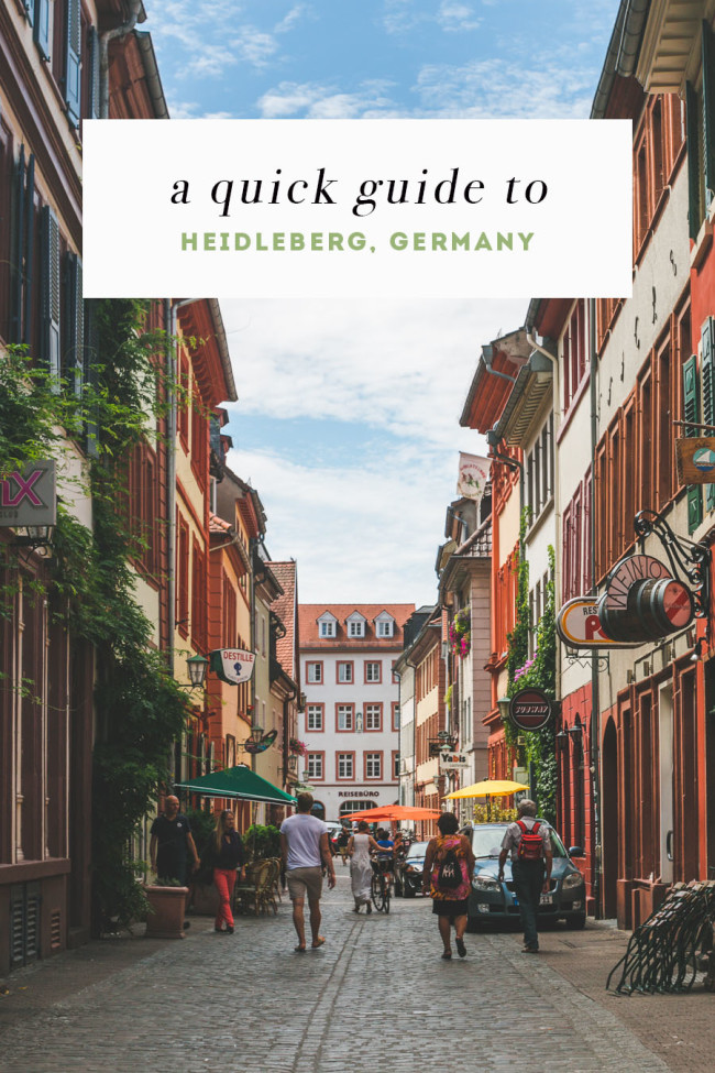 A Quick Guide to Heidelberg