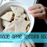 Homemade Apple Teething Biscuits