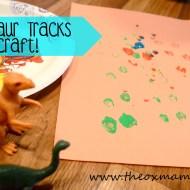 Tot School Week 4: Dinosaur Theme