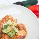 New Comfort Food: Chili Lime Chicken with Avocado Salsa