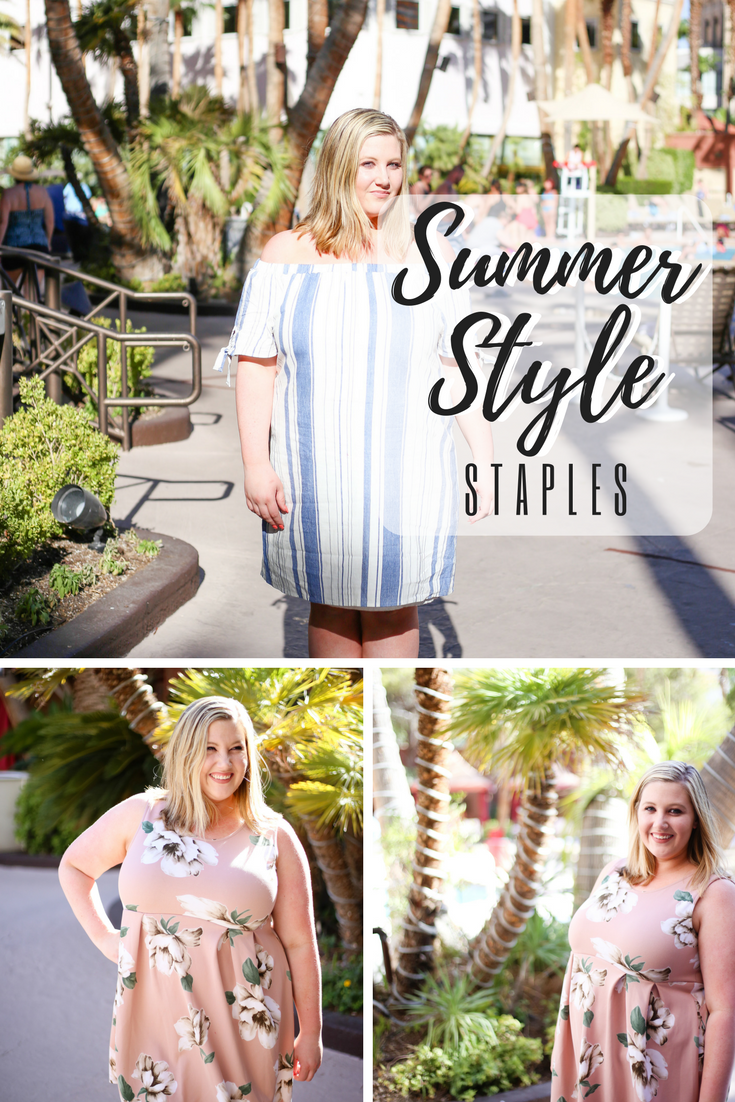 Summer Style Staples | Plus Size | Pinkblush dresses | OTS, blush, and florals!