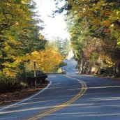 Chuckanut Drive Fall Road