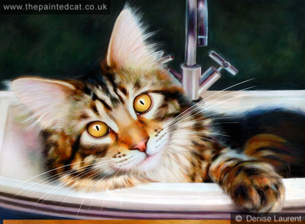 Taz In The Sink