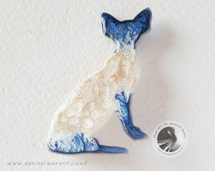 Asia – Blue Point Siamese Brooch