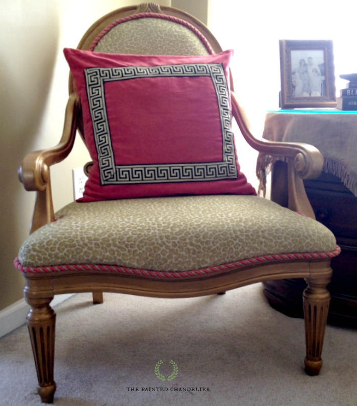 How To Reupholster A French Armchair Gold And