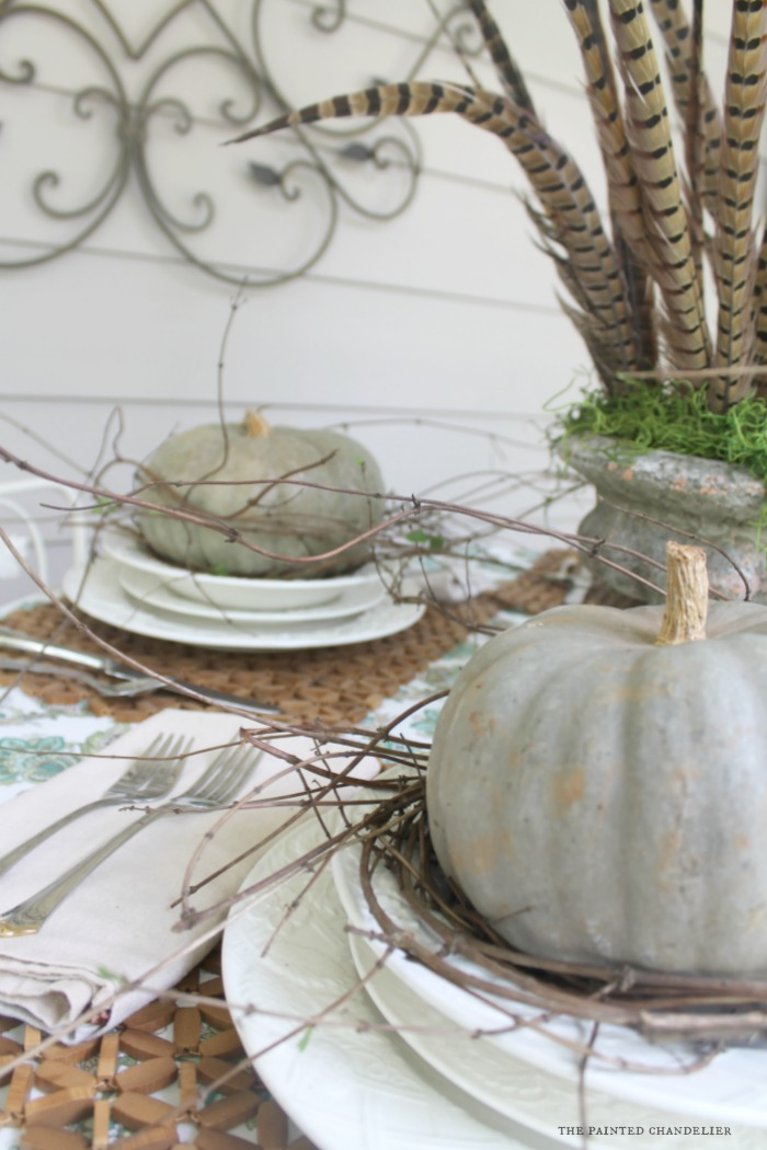 close-up-pumpkins-and-vines-no-glasses-table-setting-the-painted-chandelier