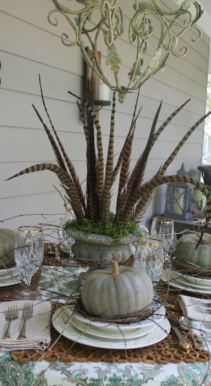 pheasant-feathers-pumpkins-vines-place-setting-the-painted-chandelier