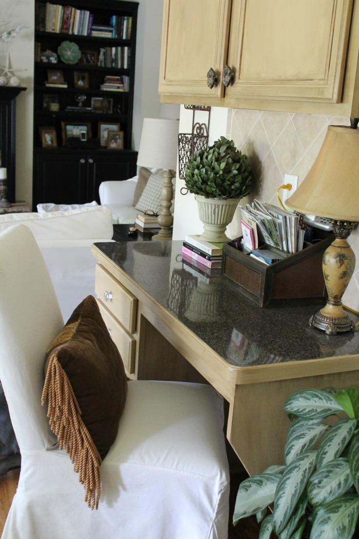 desk-area-with-ballards-parsons-chair-kitchen