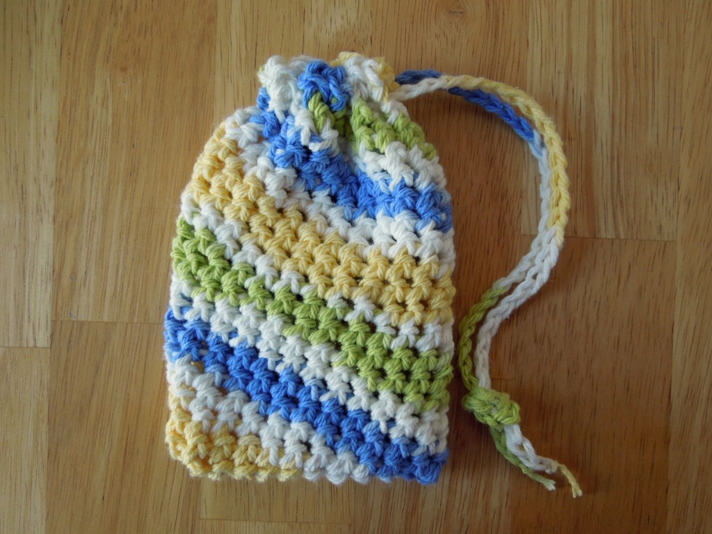 Super Simple Soap Saver Crochet Pattern