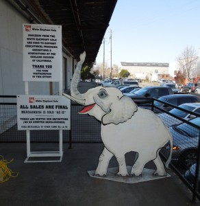 The White Elephant Sale!