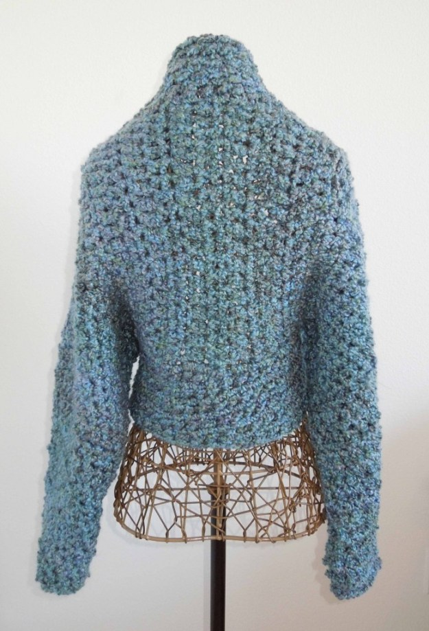 Easy No-Seam Crochet Shug Pattern