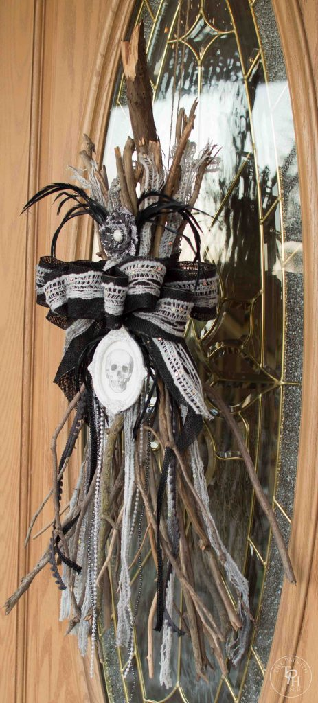 Halloween Broken Witch Broom Swag Tutorial