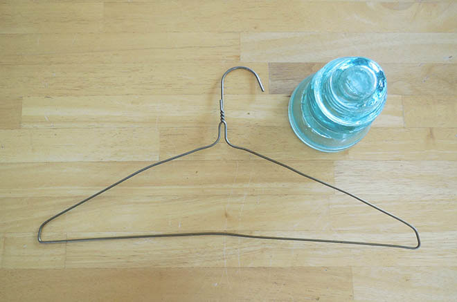 Glass Electrical Insulator Vase Stand Tutorial