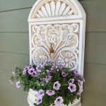 Wall Planter Repurposed From A Water Fountain