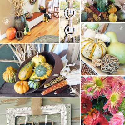 Fall Decorating Ideas & Projects