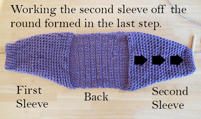 Half Sleeve Shrug No Seam Free Crochet Pattern