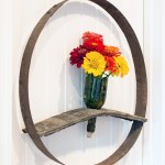 Wine Barrel And Bottle Wreath Tutorial