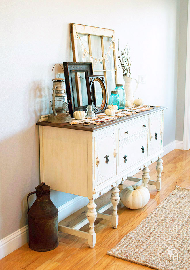 Fall Farmhouse Home Tour 2015 Part 1- Entryway