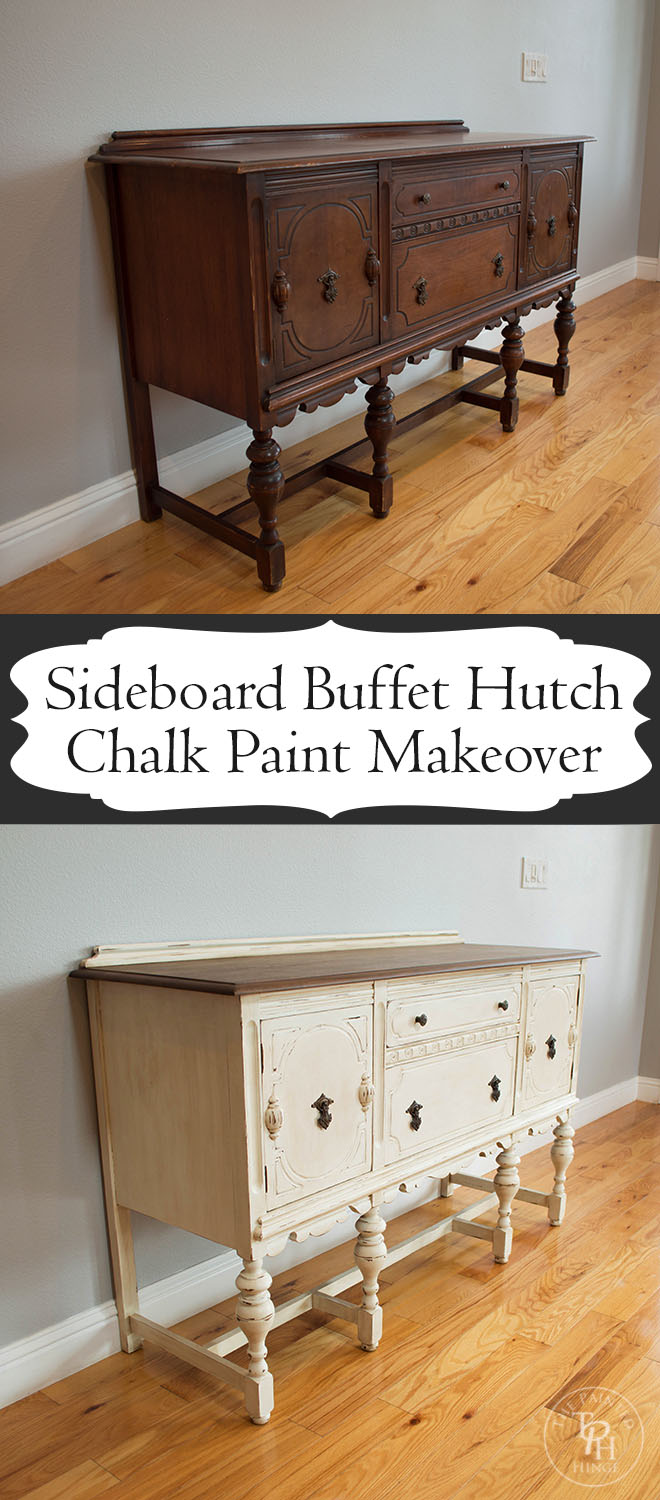 Painted buffet table furniture - I Hope You Enjoyed This Sideboard Makeover Let Me Know What You Think Or If You Have Any Questions In The Comments Section Below