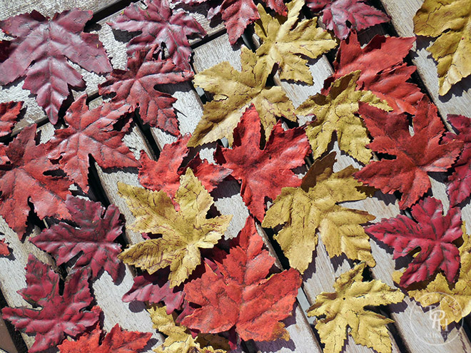 Chalk paint leaves part 3 - color