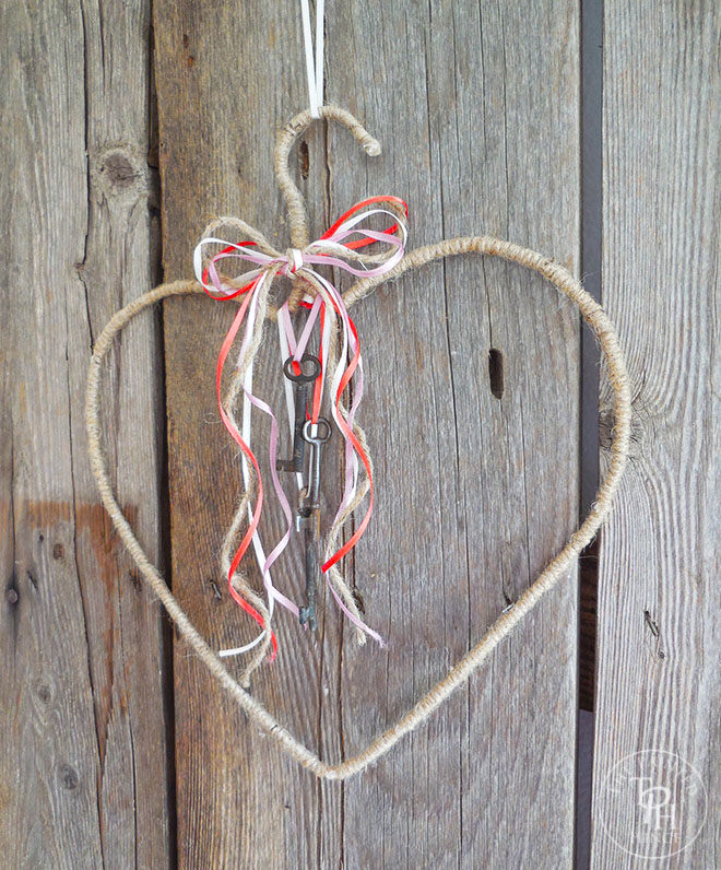 Keys To My Heart Valentine's Day Wreath