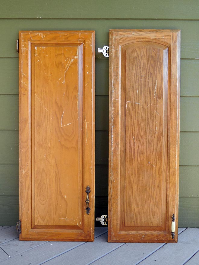 DIY Repurposed Cabinet Doors