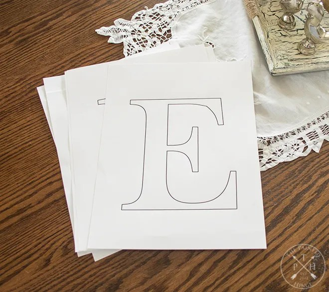 Free Printable Letters To Make A Farmhouse Sign