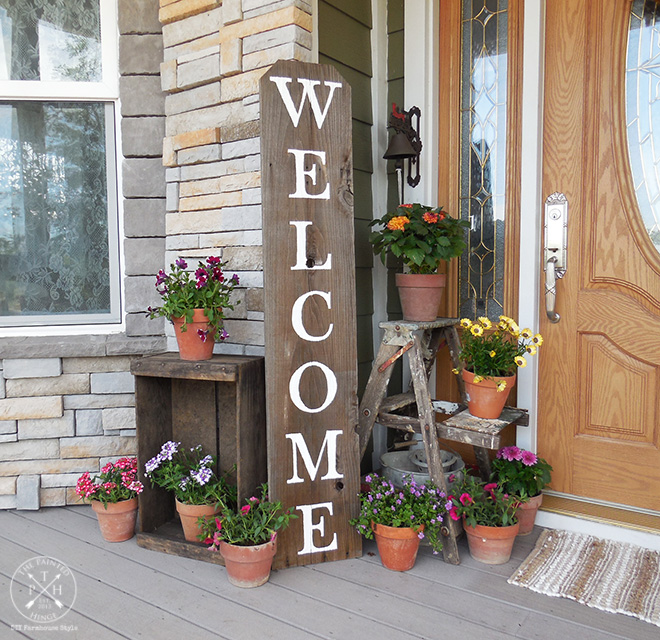 How To Create A Welcoming Farmhouse Style Front Porch