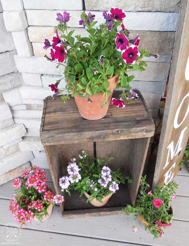 How To Create A Colorful And Welcoming Farmhouse Style Front Porch