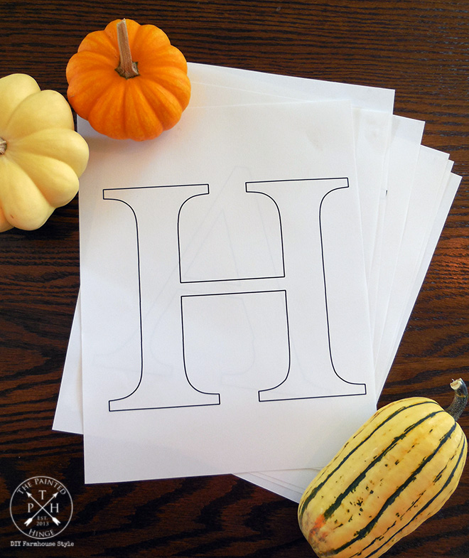 This is a picture of Juicy Printable Letters for Signs
