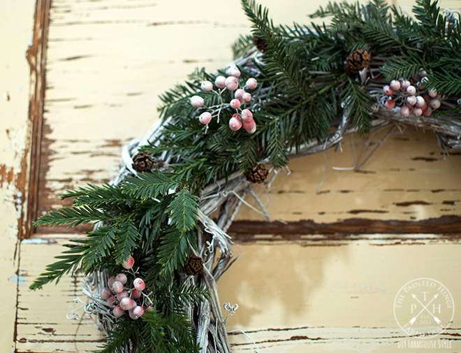 Image result for natural christmas wreaths image