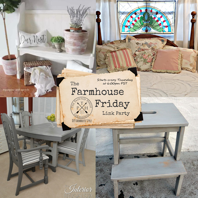 The Farmhouse Friday Link Party #44