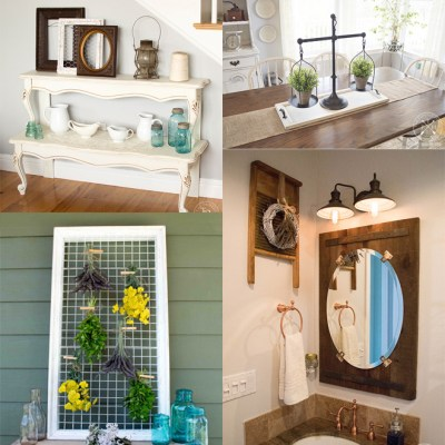 My Favorite Thrifty DIY Projects