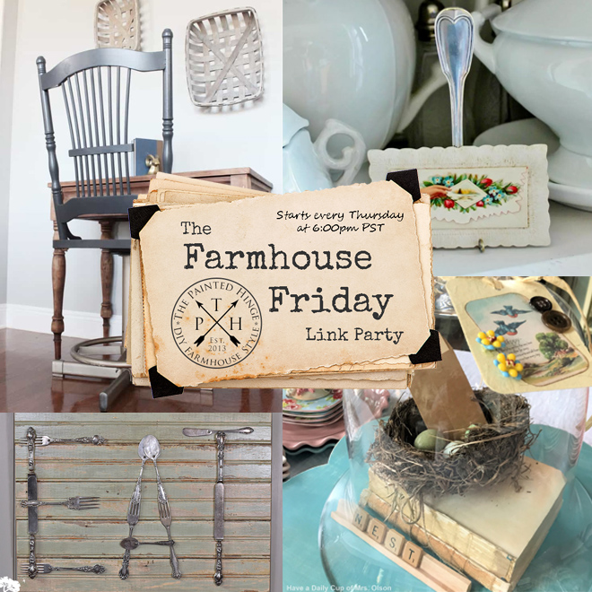 The Farmhouse Friday Link Party #53