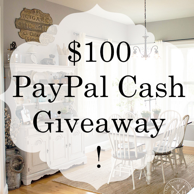 DIY Farmhouse Style 300k $100 PayPal Cash Giveaway