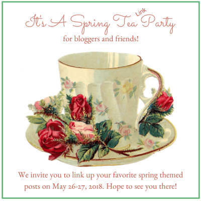 It's a Spring Tea (Link) Party!