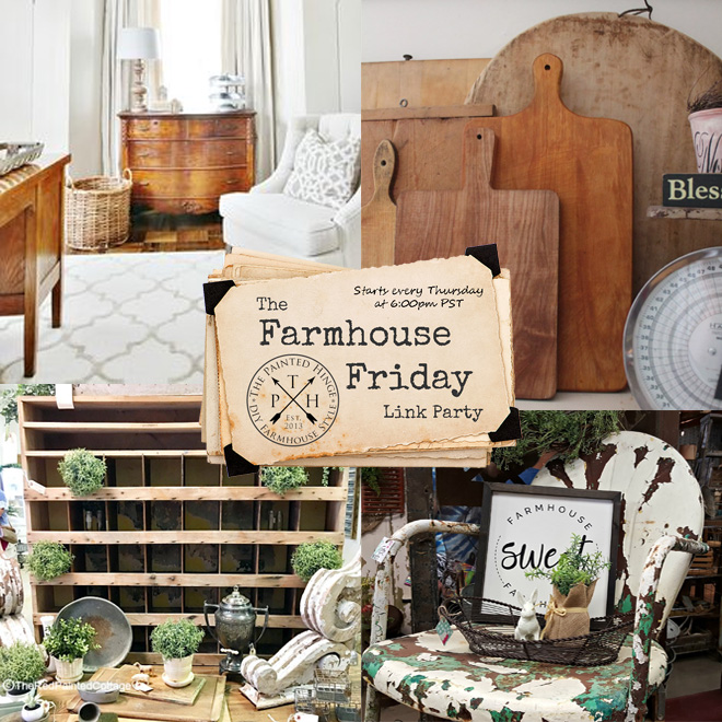 The Farmhouse Friday Link Party #69