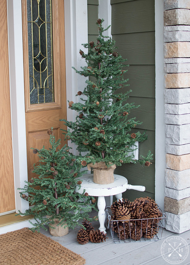 My Christmas Front Porch for 2018