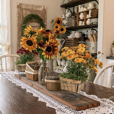 How To Decorate With Berry Baskets