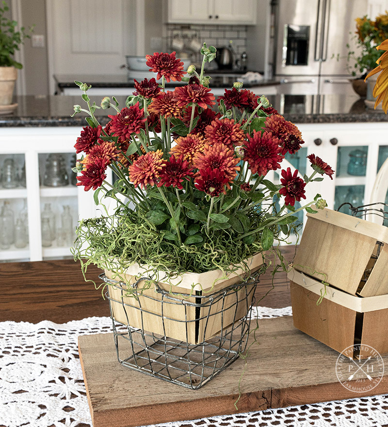 How To Use Berry Baskets in Your Decor