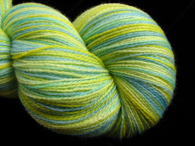 Cheerful - Hand dyed Merino Lace Yarn