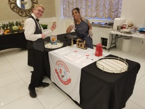 Ice Cream and Paleta Bar Catering at Business Event