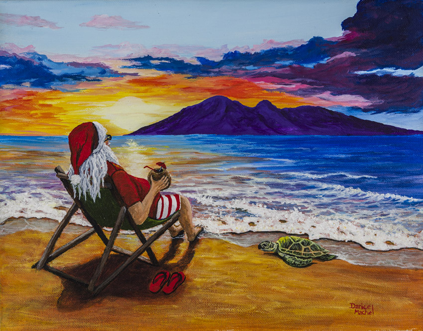 Santa Turtle Beach
