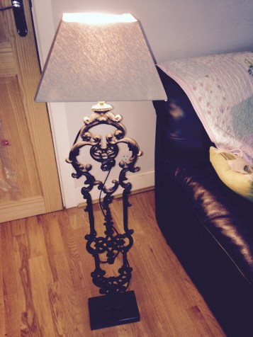 PP IMAGE 4 JAMES VIRGO BRONZE LAMP STAND LR