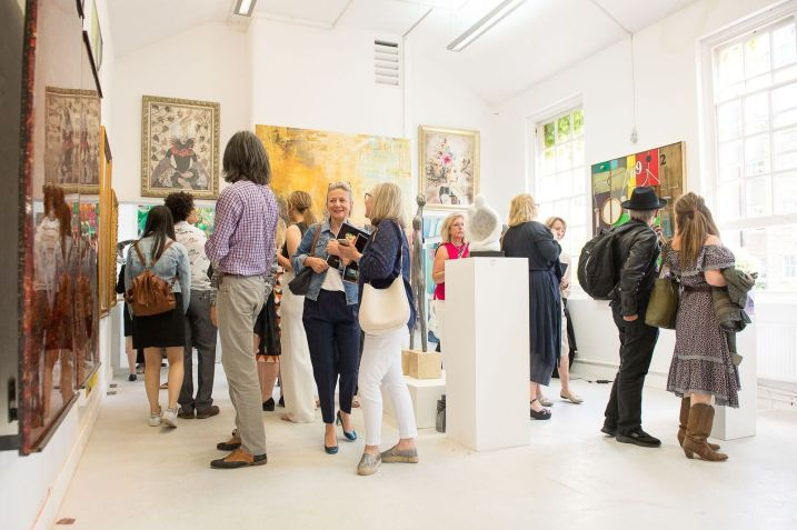 Flux Exhibition - Chelsea College of Arts