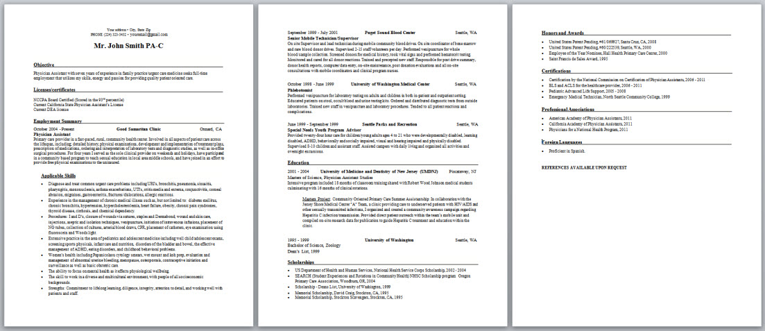 assistant resume and cover letter samples