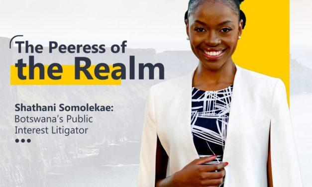 Shathani Somolekae: Africa's Legal Millennial