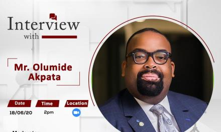 The PALM Interview with Mr Olumide Akpata , Presidential Candidate, Nigerian Bar Association Election 2020.