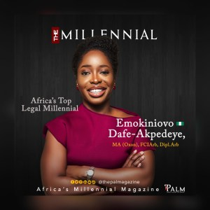 Emokiniovo Dafe-Akpedeye: Africa's Legal Millennial